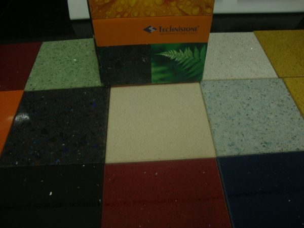 Quartzo Technistone – Cores diversas (material da Republica Tcheca)