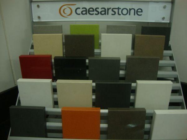 Quartzo Caesarstone – Cores diversas (material de Israel)